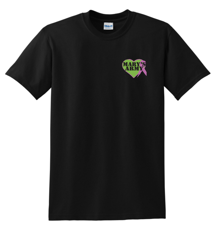 Sm Logo Black tee shirt