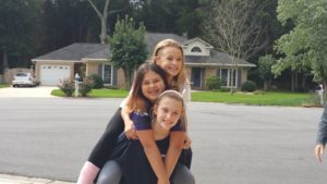 3 Musketeers! Lex, Julia & Addison